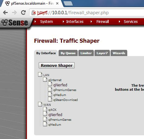 Using pfSense for QoS at a LAN Party: Nerfing the Steam downloads