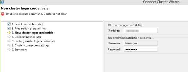 clusternotclean